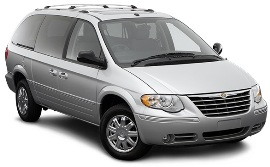 car hire Chrysler Voyager 2.8 Diesel 6+1 seats Automatic Varna, Burgas