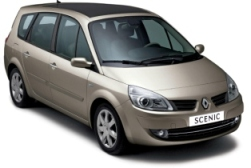 Rent a car Renault Grand Scenic 2.0 Petrol 6+1 seats Automatic Varna Airport, Burgas Airport