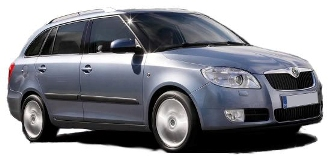 Rent a car Skoda Fabia Estate 1.2 Petrol manual in Varna or Burgas
