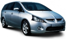 Car hire Mitsubishi Grandis 2.4 Petrol 5+1 seats Automatic