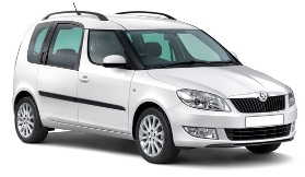 Rent a car Skoda Roomster 1.6 Petrol Automatic in Varna or Burgas