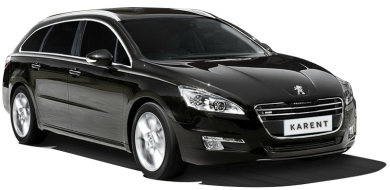 car rental Peugeot 508 1.6 e-HDi Estate Automatic Diesel